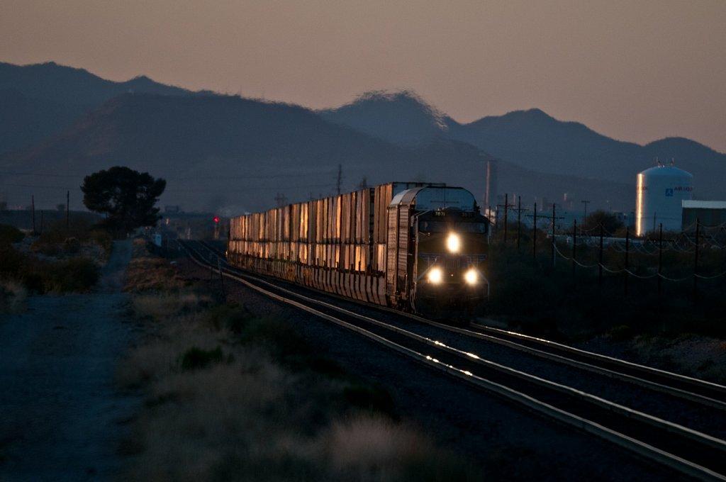 Freight Train at Dua