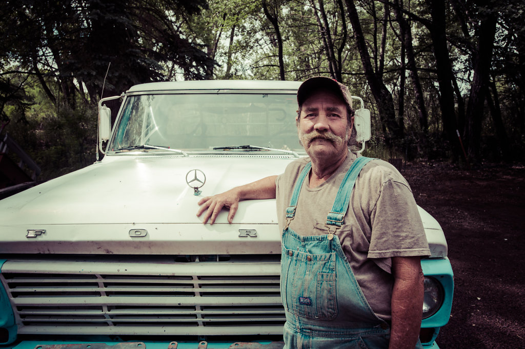 Man and his truck
