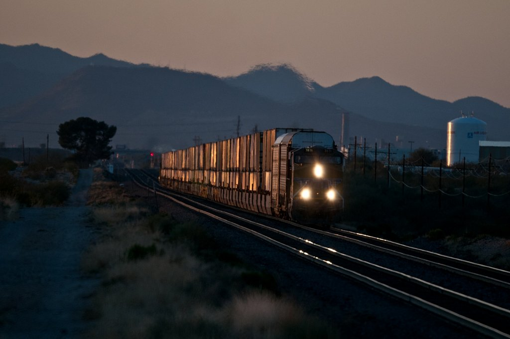 Freight Train at Dua