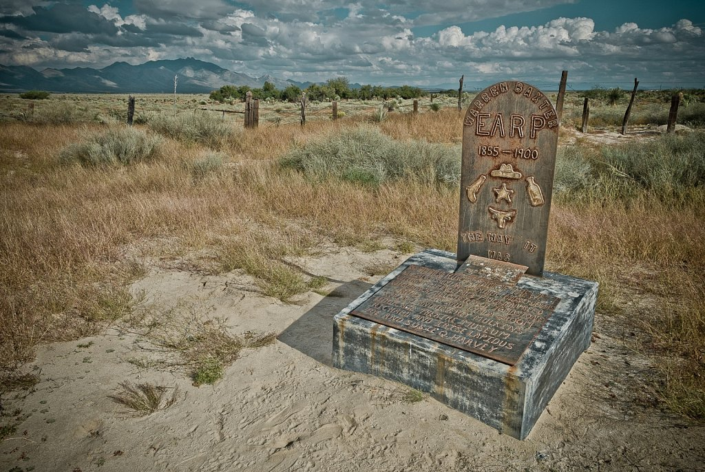 Earp Gravesite in Willcox Arizona
