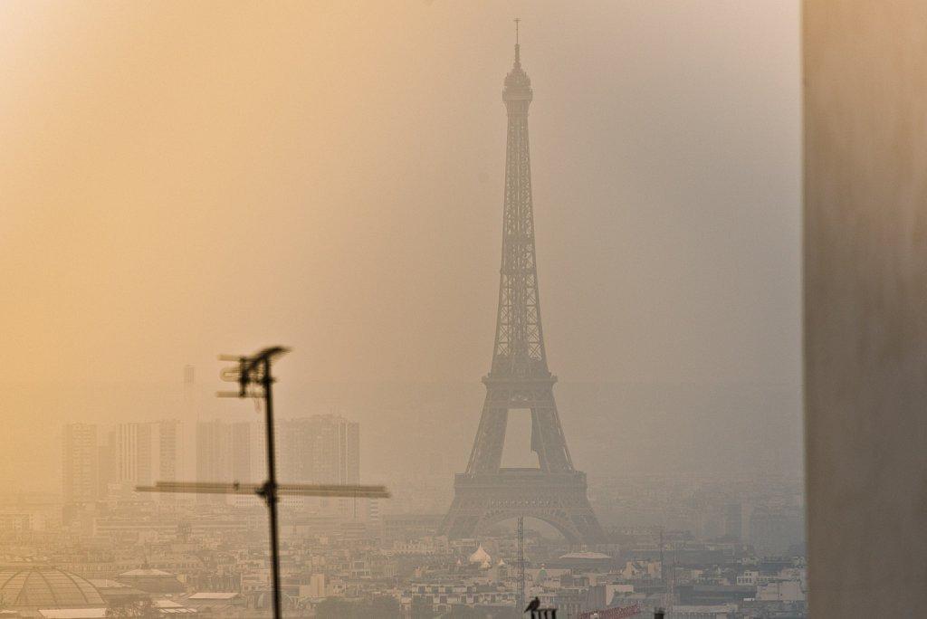 Eiffel Tower Haze